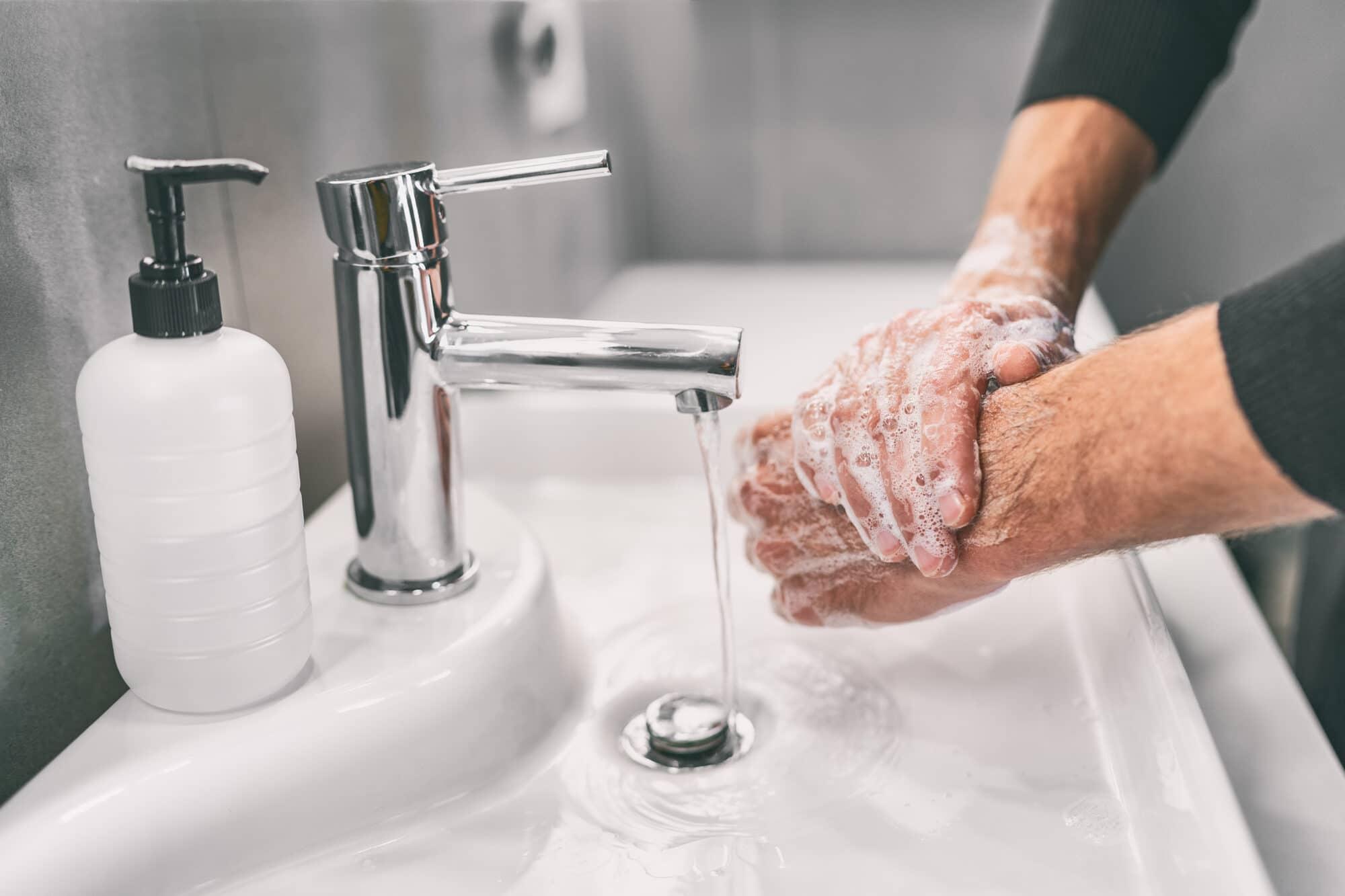 Hands hygiene
