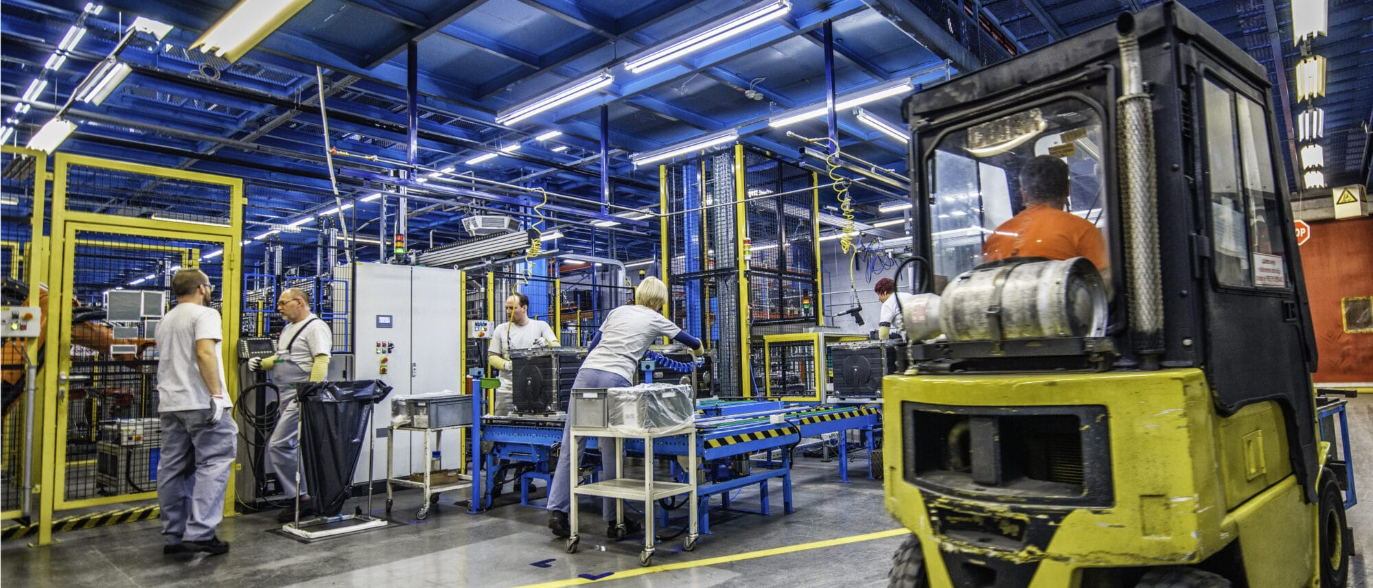 Maintenance in the non-food industry
