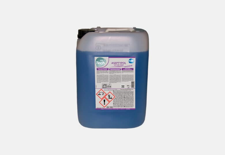 PolTech Aseptypol powerful disinfectant for a food and medical environment