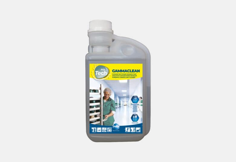 PolTech Gammaclean disinfectant cleaner for all surfaces