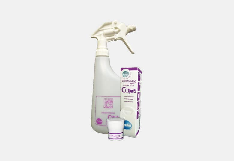 PolTech Gammaclean Caps disinfectant cleaner for all surfaces