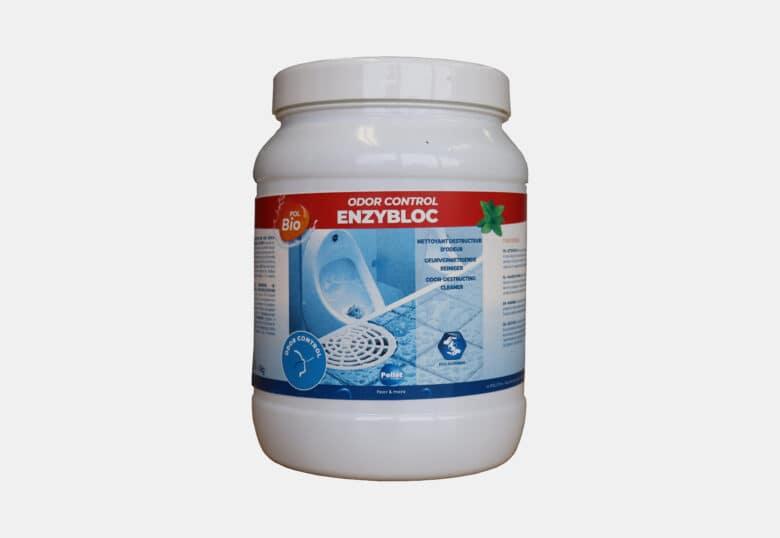 PolBio Odour Control Enzybloc urinal descaling block