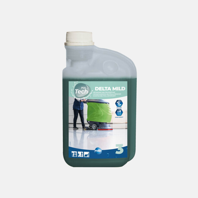 PolTech Delta Mild neutral detergent for delicate flooring