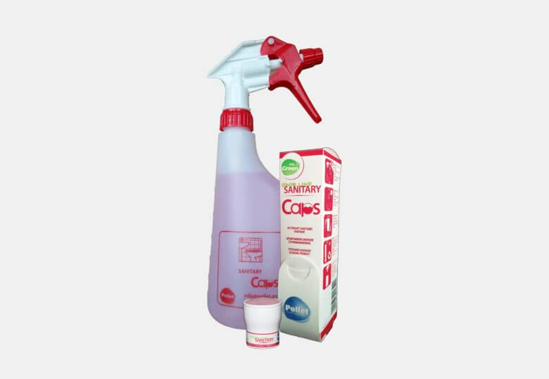 PolGreen Odor Line Sanitary Caps toilet detergent capsules