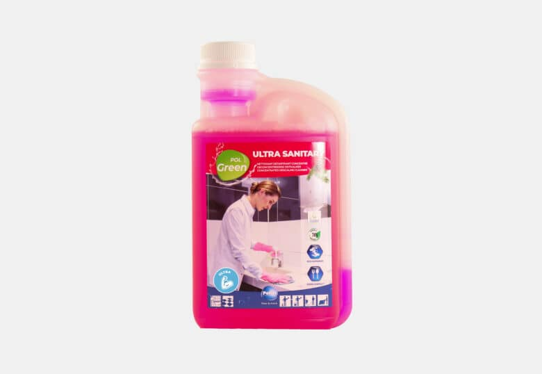 PolGreen Ultra sanitary ultra-concentrated ecological cleaner for toilet facilities