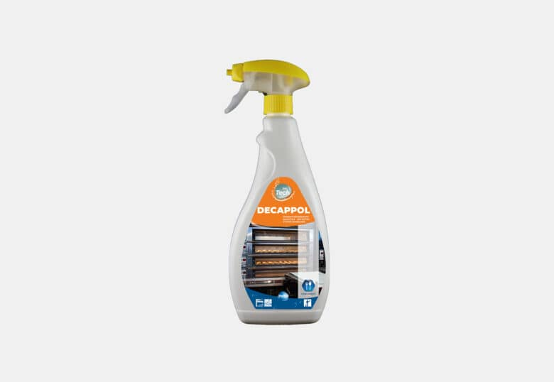 PolTech Decappol powerful degreaser for kitchen equipment