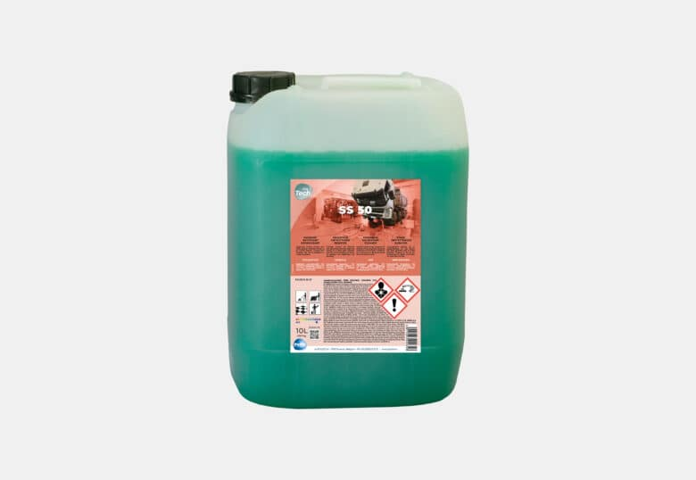 PolTech SS 50 powerful solvent-based degreaser for hard flooring