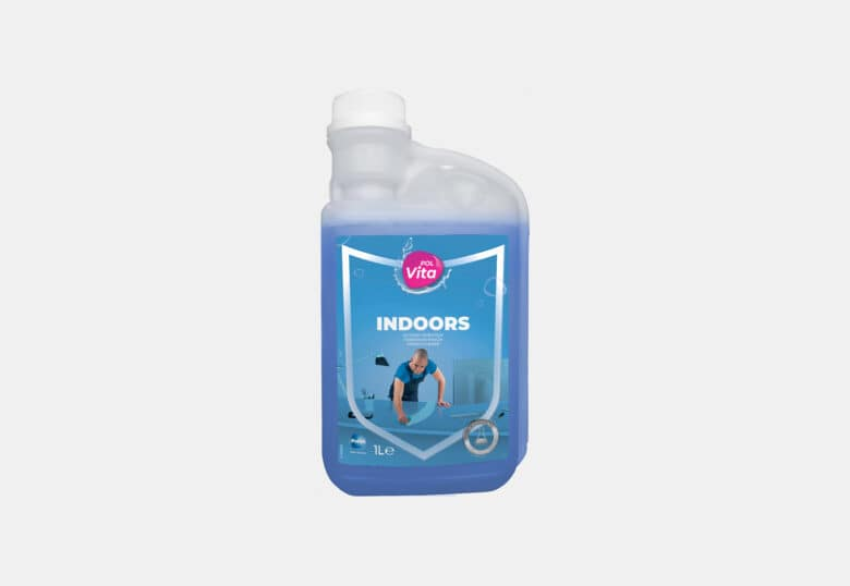 PolVita Indoors protective probiotic cleaner for all surfaces
