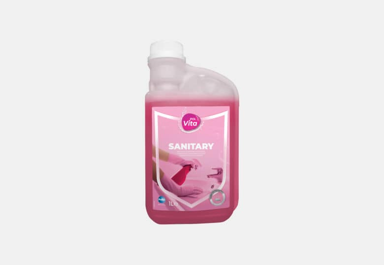 PolVita Sanitary protective probiotic descaling cleaner for toilet facilities