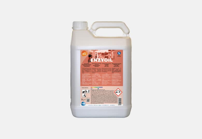 PolBio Enzyoil concentrated degreaser for an industrial environment