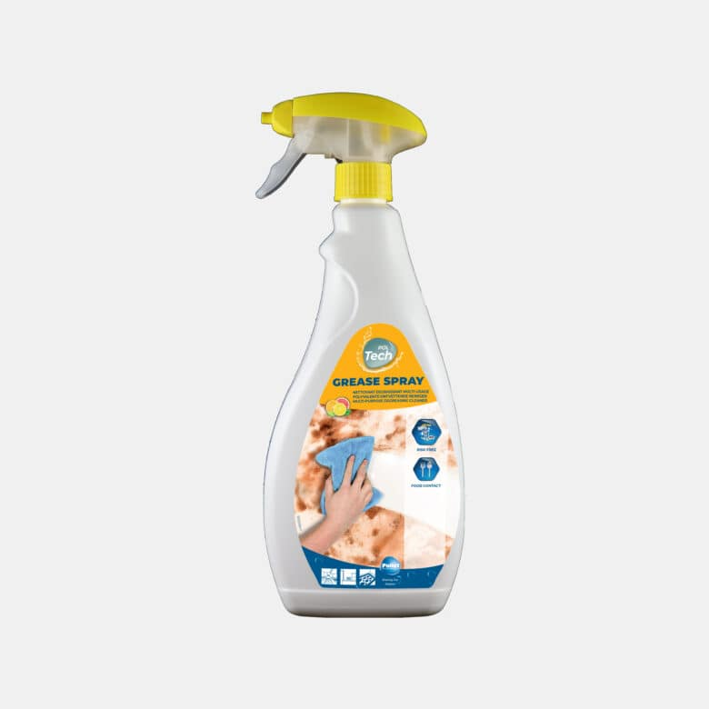 PolTech Grease Spray stain-removing degreasing detergent